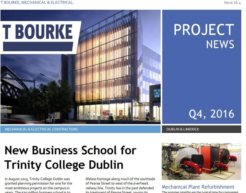 T Bourke Newsletter online!